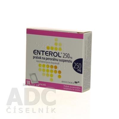 Enterol 250 mg prášok na perorálnu suspenziu