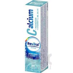 Revital Calcium+MAGNÉZIUM+VITAMÍNY C, B6, D3, K1