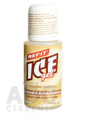 REFIT ICE GEL KOSTIHOJ A GAŠTAN roll-on