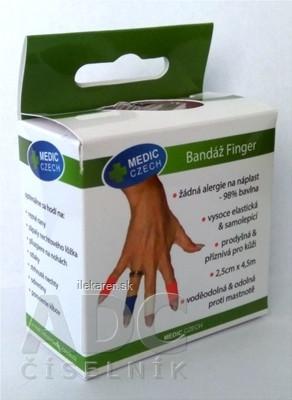 MEDIC Bandáž Finger Červená