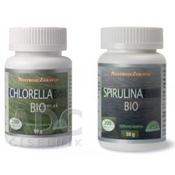 CHLORELLA Extra BIO + SPIRULINA  Extra BIO