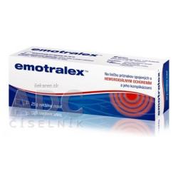 Emotralex rektálna masť