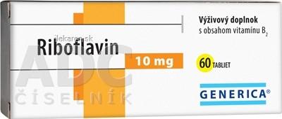 GENERICA Riboflavin 10 mg