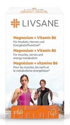 LIVSANE Magnézium + Vitamín B6