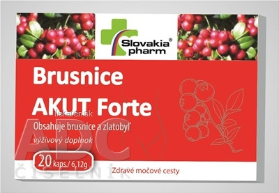 Slovakiapharm Brusnice AKUT Forte