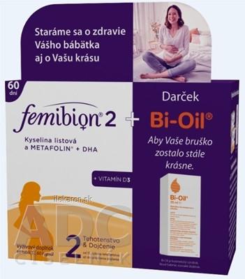 Femibion 2 Kys. listová a METAFOLIN+DHA+VIT.D3