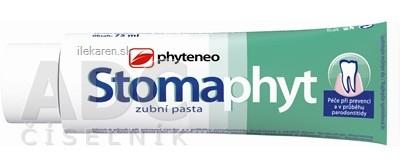 Phyteneo Stomaphyt zubná pasta bez fluóru