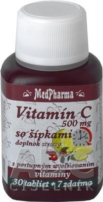 MedPharma VITAMÍN C 500MG so šípkami
