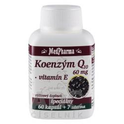 MedPharma KOENZÝM Q10 60 mg + Vitamín E