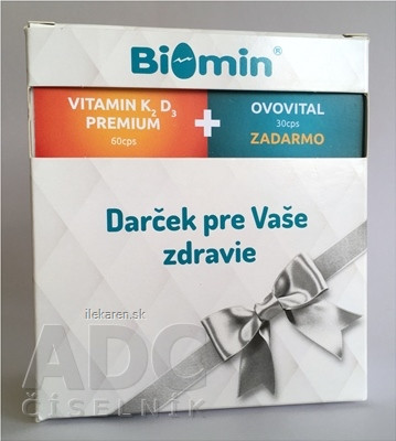 BIOMIN VITAMIN K2 D3 PREMIUM darčekové balenie