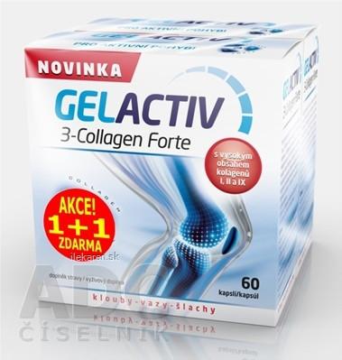 GELACTIV 3-Collagen Forte Akcia 1+1