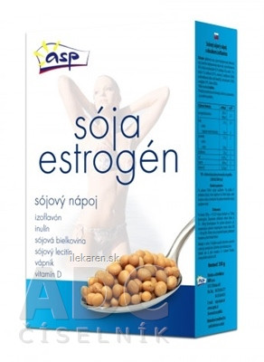 asp SÓJA ESTROGÉN Sójový nápoj