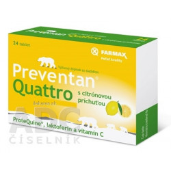 FARMAX Preventan Quattro s citrónovou príchuťou