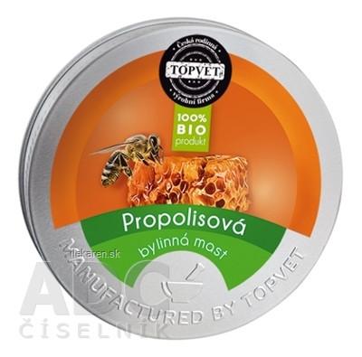 TOPVET Bio PROPOLISOVÁ masť