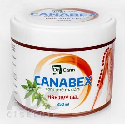Dr.Cann CANABEX konopné mazanie HREJIVÝ GÉL