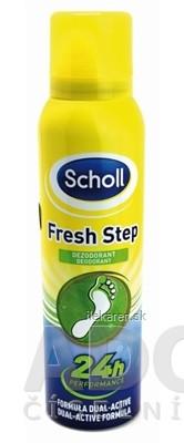 Scholl FRESH STEP Deodorant sprej na nohy