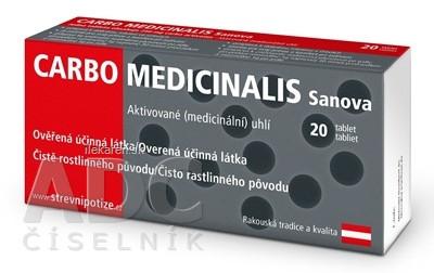 CARBO Medicinalis Sanova