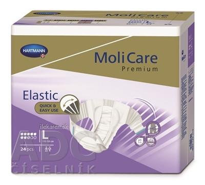 MoliCare Premium Elastic 8 kvapiek L
