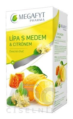 MEGAFYT Lipa s medom & citrónom