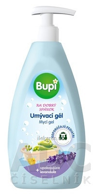 Bupi BABY Umývací gél - levanduľa