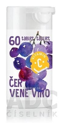 RAPETO C Vitamín 200 mg - príchuť červené víno