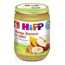 HiPP Príkrm BIO Jablka s mangom a banánmi