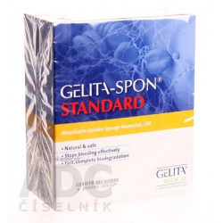 GELITA-SPON DENTAL CUBE