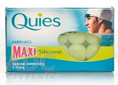 Quies Silikónové chrániče sluchu MAXI