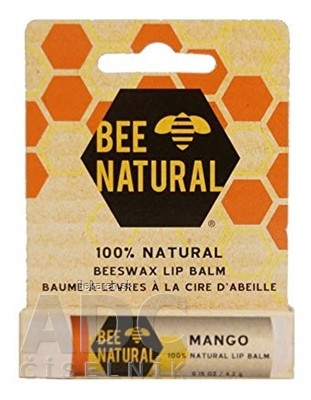 BEE NATURAL balzam na pery Mango