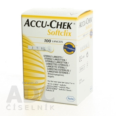 ACCU-CHEK Softclix Lancet 100