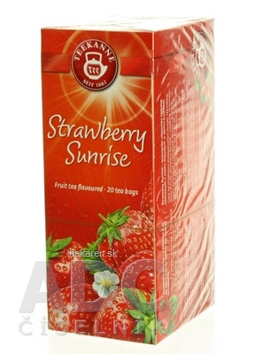 TEEKANNE WOF STRAWBERRY SUNRISE
