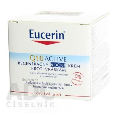 Eucerin Q10 ACTIVE nočný krém proti vráskam