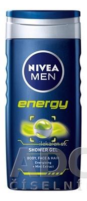 NIVEA MEN SPRCHOVÝ GÉL ENERGY