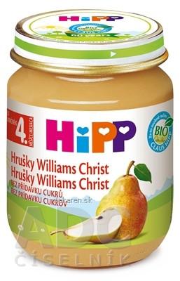 HiPP Príkrm ovocný Hrušky Wiliams-Christ