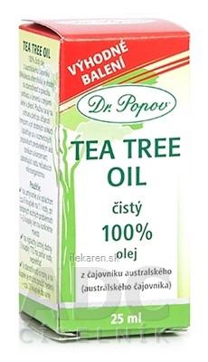 DR. POPOV TEA TREE OIL