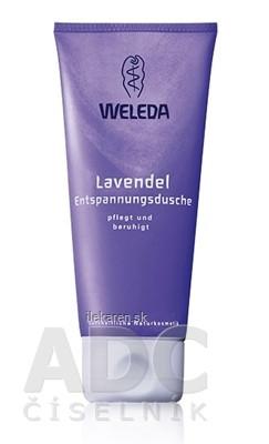 WELEDA Sprchovacia emulzia Levanduľa