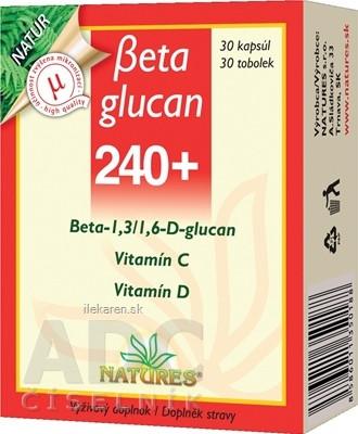 NATURES Betaglucan 240+