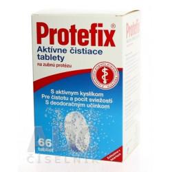 Protefix Aktívne čistiace tablety na zubnú protézu