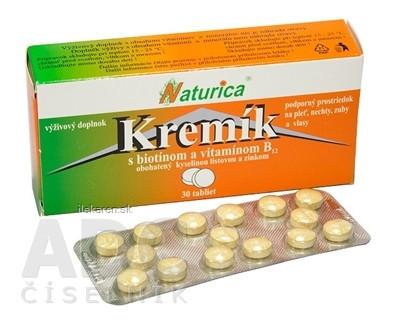 Naturica KREMÍK s biotínom a vitamínom B12
