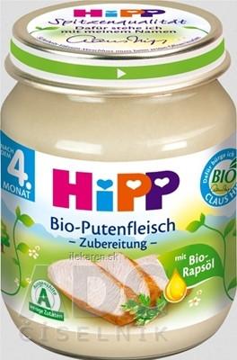 HiPP Príkrm BIO Morčacie mäso - pyré
