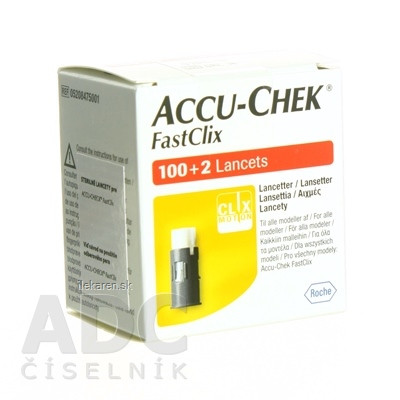 ACCU-CHEK FastClix Zásobník lancetový