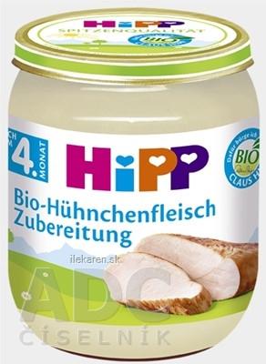 HiPP Príkrm BIO Kuracie mäso - pyré