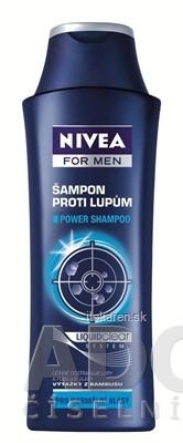NIVEA MEN POWER Šampón proti lupinám pre mužov