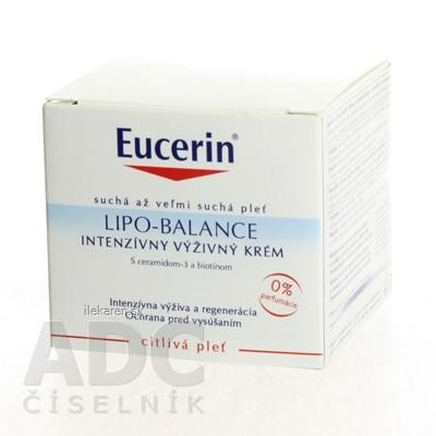 Eucerin LIPO BALANCE intenzívny výživný krém
