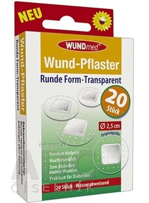 WUNDmed Kruhová náplasť Transparentná