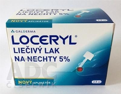 LOCERYL liečivý lak na nechty 5 %