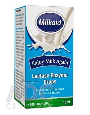Milkaid Lactase Enzyme Drops