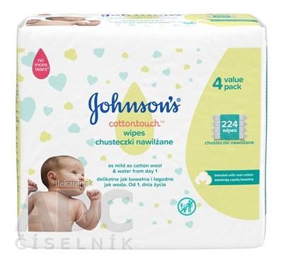 Johnson's Cottontouch detské vlhčené obrúsky