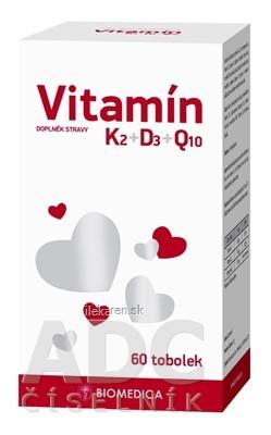 BIOMEDICA Vitamín K2+D3+Q10