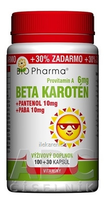 BIO Pharma Beta karotén 6 mg